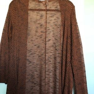 LuLaRoe large (thin, light) Sarah duster sweater